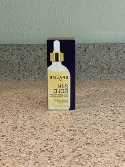 SpaLife 24K Gold Collagen Infused Anti-Aging Serum for Firm