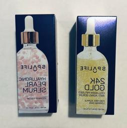 Spa Life 24K Gold Collagen Serum & Hyaluronic Pearl Serum Hy