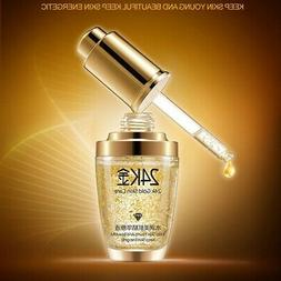 24k gold collagen serum essence anti aging