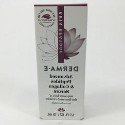Derma E Advanced Peptides & Collagen Serum 15ml Brand New In
