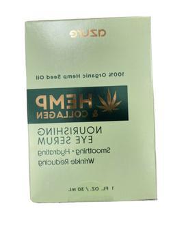 Azure Hemp and Collagen Nourishing Eye Serum, 1 Fl Oz With 1