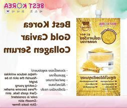 Best Korea Gold Caviar Collagen Serum  10 ml. 1 box contains