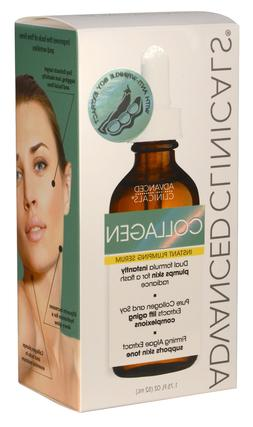 Advanced Clinicals Collagen Instant Plumping Serum for Fine