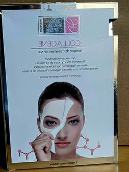 Global Beauty Care Collagen Spa Treatment Mask Anti-Aging Se