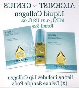 Algenist GENIUS Vegan Liquid Collagen Serum MINI 6.2mL + Two