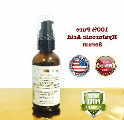 100 percent pure hyaluronic acid serum collagen