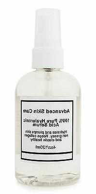 100%  PURE HYALURONIC ACID SERUM Firming Collagen 2oz or 4oz