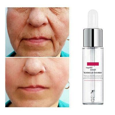 15ml vibrant glamour argireline collagen face serum