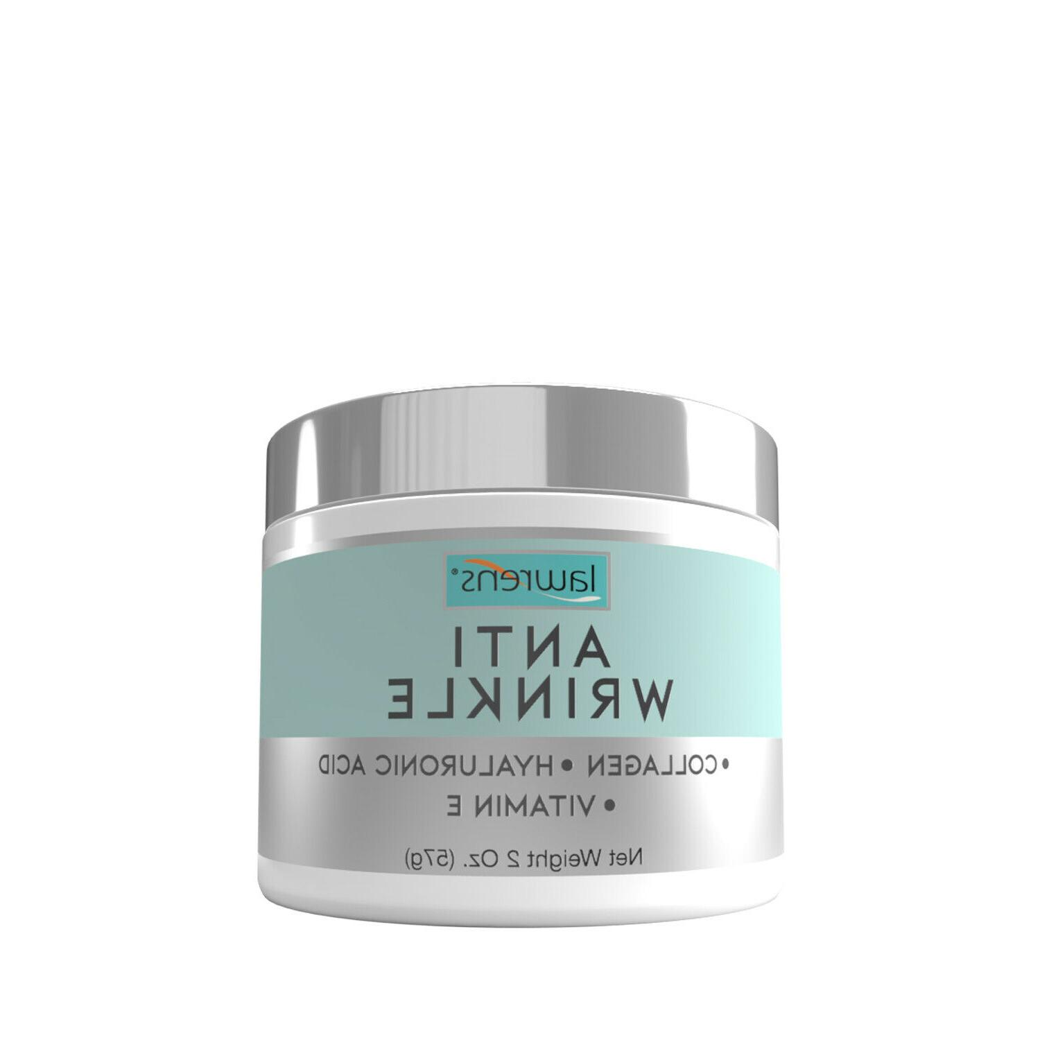 anti wrinkle cream with collagen hyaluronic acid
