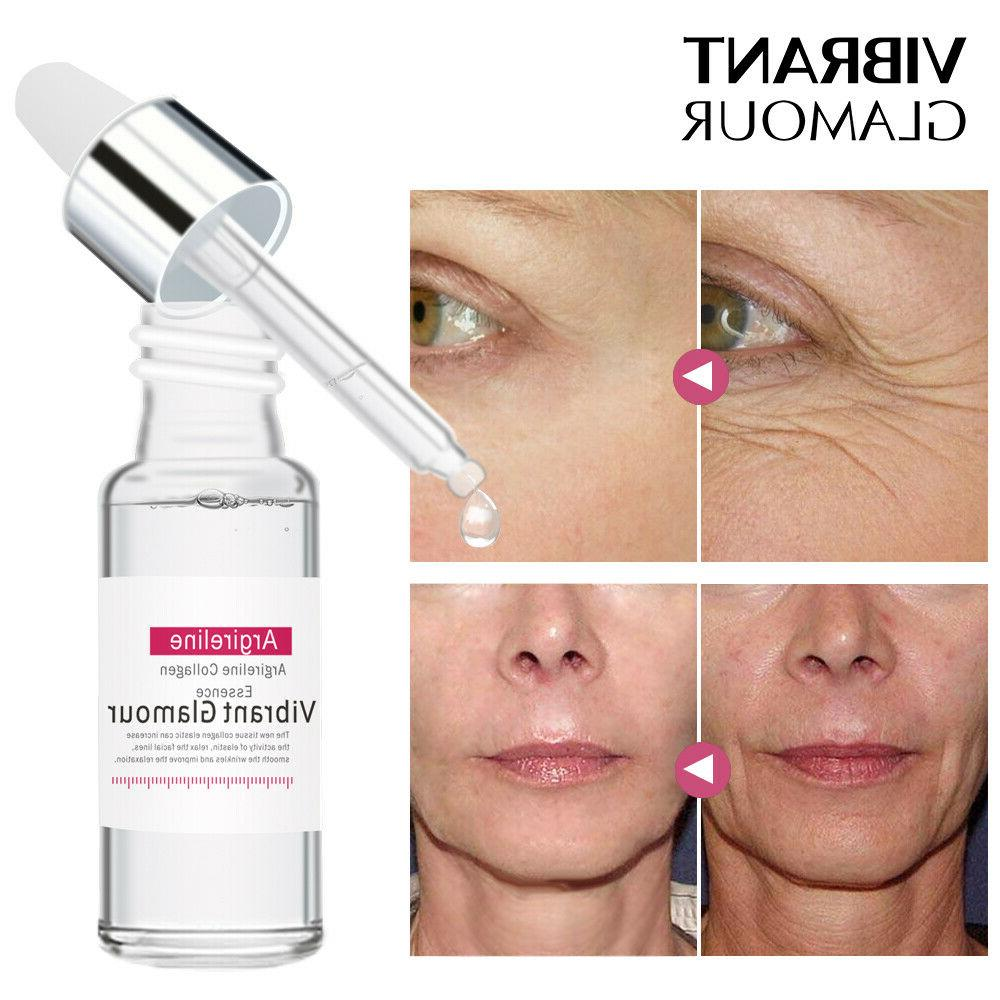 argireline collagen peptides face serum antiaging wrinkle