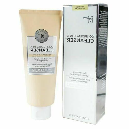 confidence in a cleanser cleansing anti aging