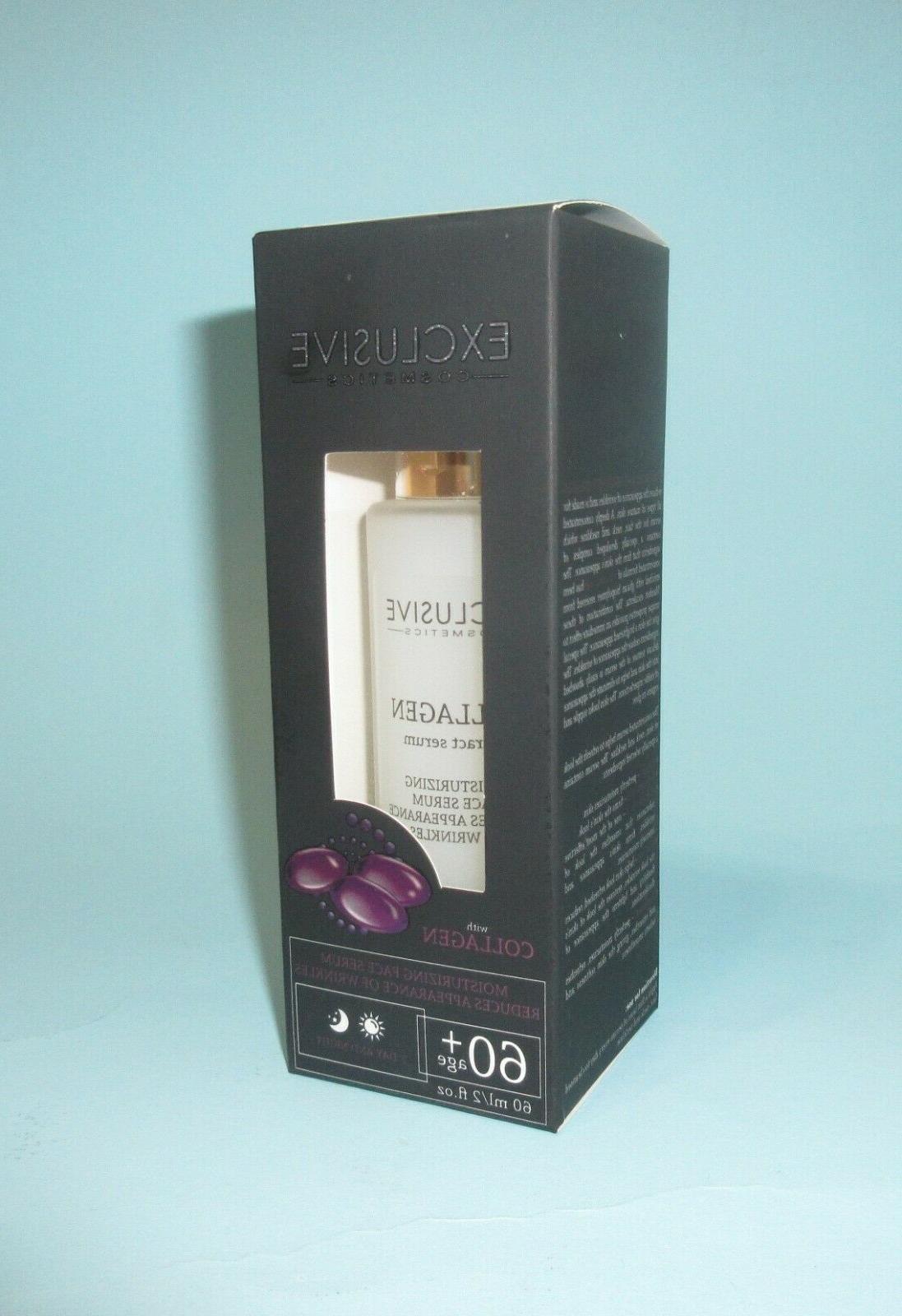 exclusive cosmetics 60 anti wrinkle collagen serum