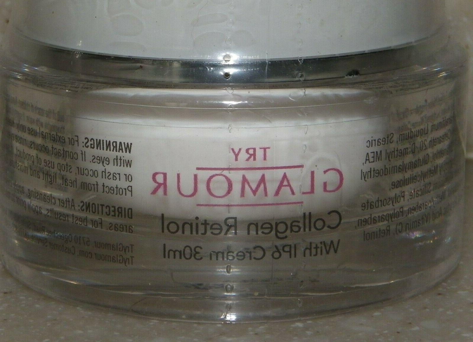 New TRY GLAMOUR Retinol with IP6 30ml Anti-Aging Serum 15ml