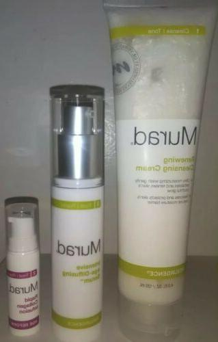 resurgence intensive age diffusing serum cleansing cream
