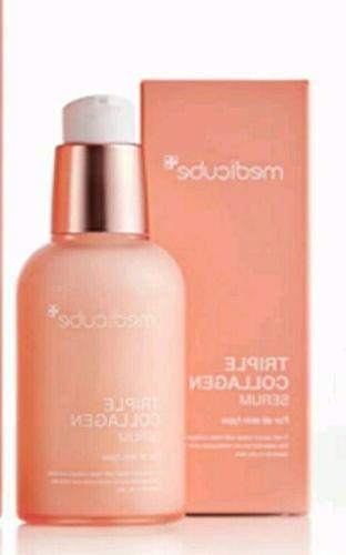 triple collagen essential serum 50ml brightening