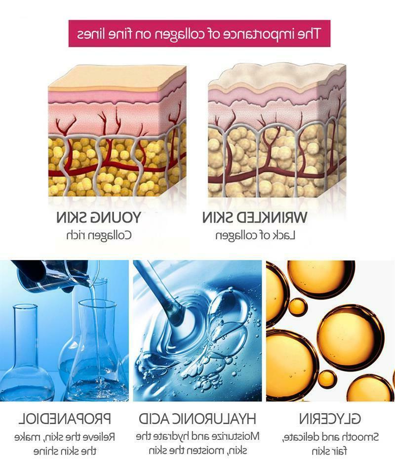 VIBRANT 15ml Collagen Face Serum Wrinkle Firming