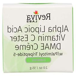 Reviva Labs Alpha Lipoic Acid, Vitamin C Ester, DMAE Cream 5