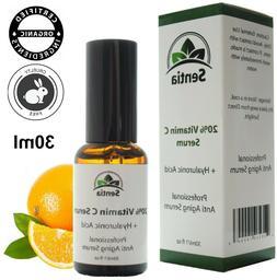 vitamin c face serum skin cream collagen
