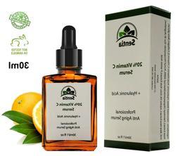 Vitamin C Face Serum cream + Collagen + Hyaluronic Acid. Bes