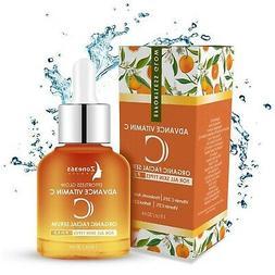 Vitamin C Natural Anti-Aging Face Serum W/Hyaluronic Acid, R